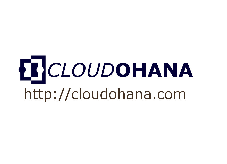 Cloud Ohana Button
